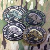 Mil-Spec Monkey Velcro Morale Patch Honey Badger PVC